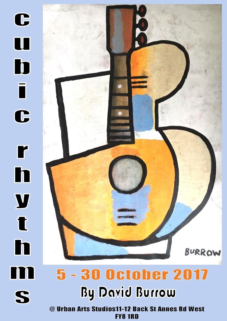 David Burrow exhibition poster