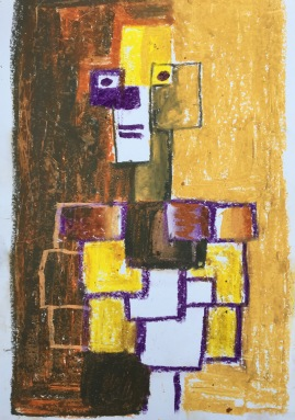 man cubist