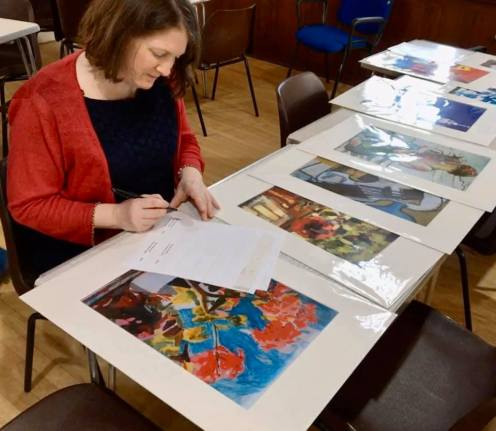 David Burrow Exhibition Garstang-2 copy